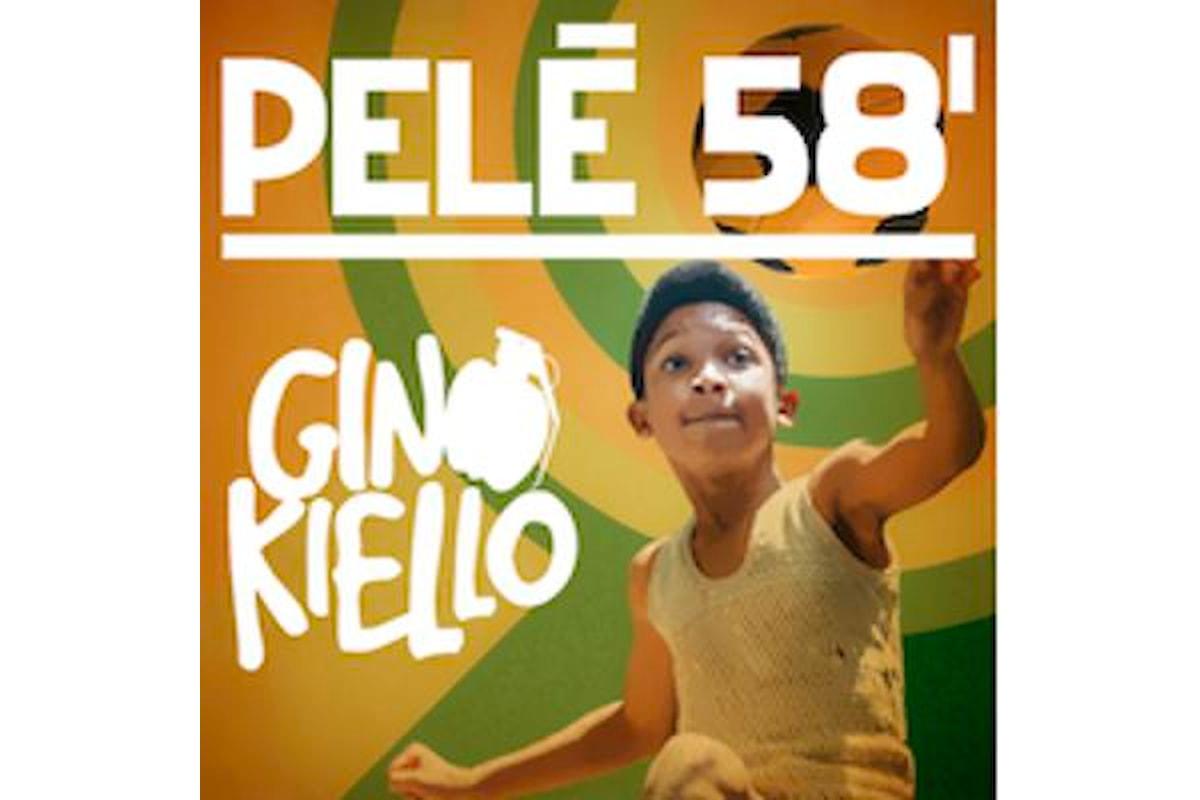 Nell'anno dei mondiali Ginokiello presenta il suo nuovo singolo PELE' 58'
