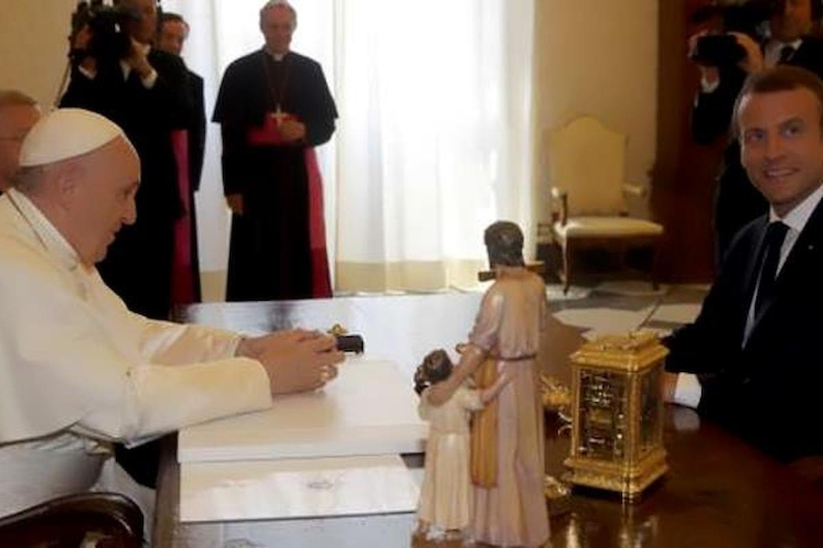 Macron va dal Papa senza incontrare nessun rappresentante delle istituzioni italiane