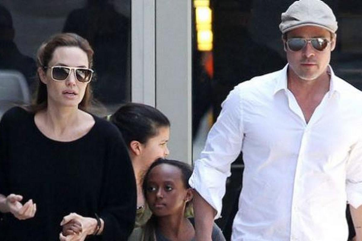 Angelina Jolie cerca di mettere i figli contro Brad Pitt