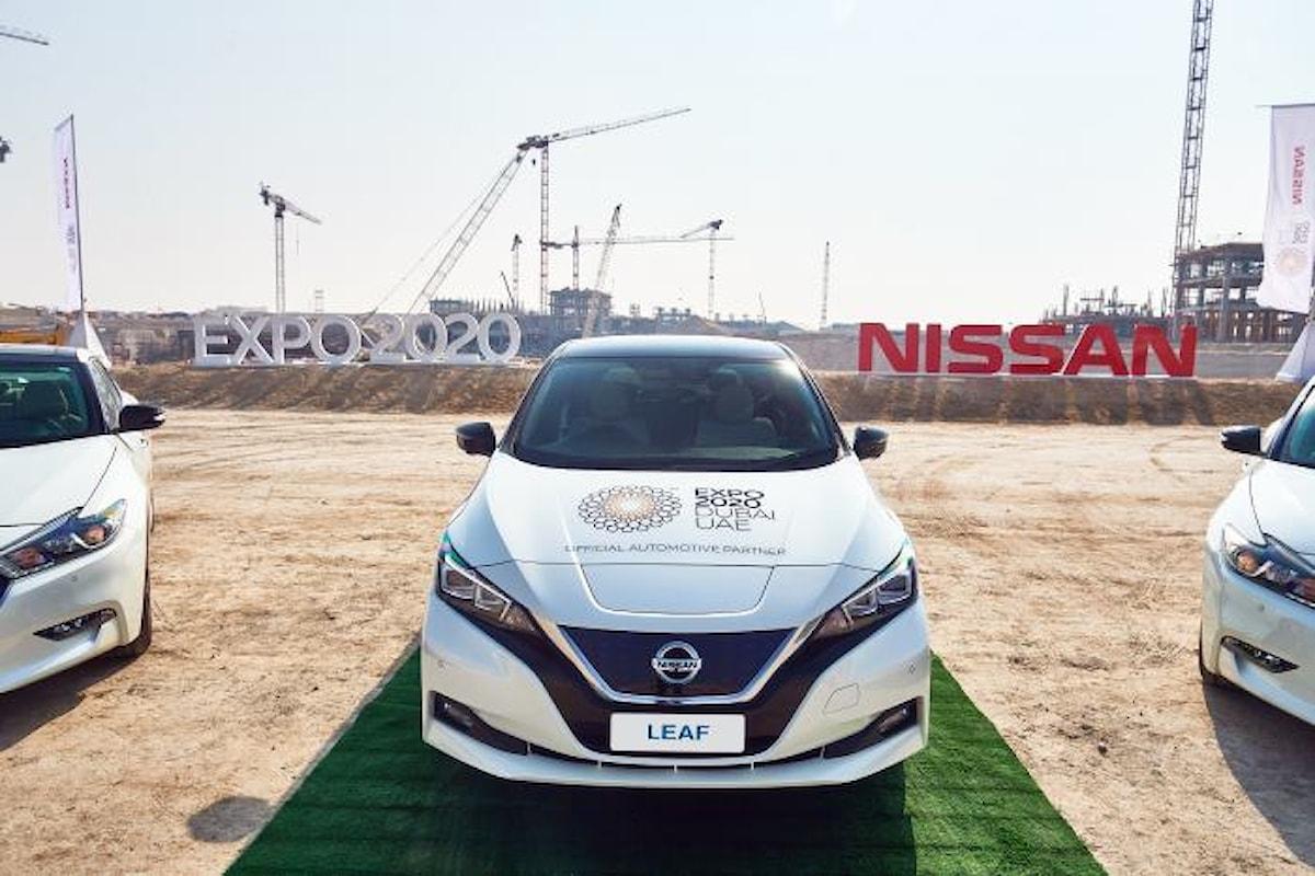 Nissan a Expo 2020 Dubai per il futuro della mobilità intelligente