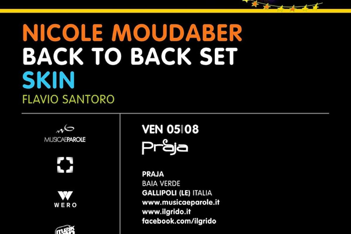 05/08 Nicole Moudaber B2B Skin, Flavio Santoro @ Il Grido Gallipoli (LE) c/o Praja