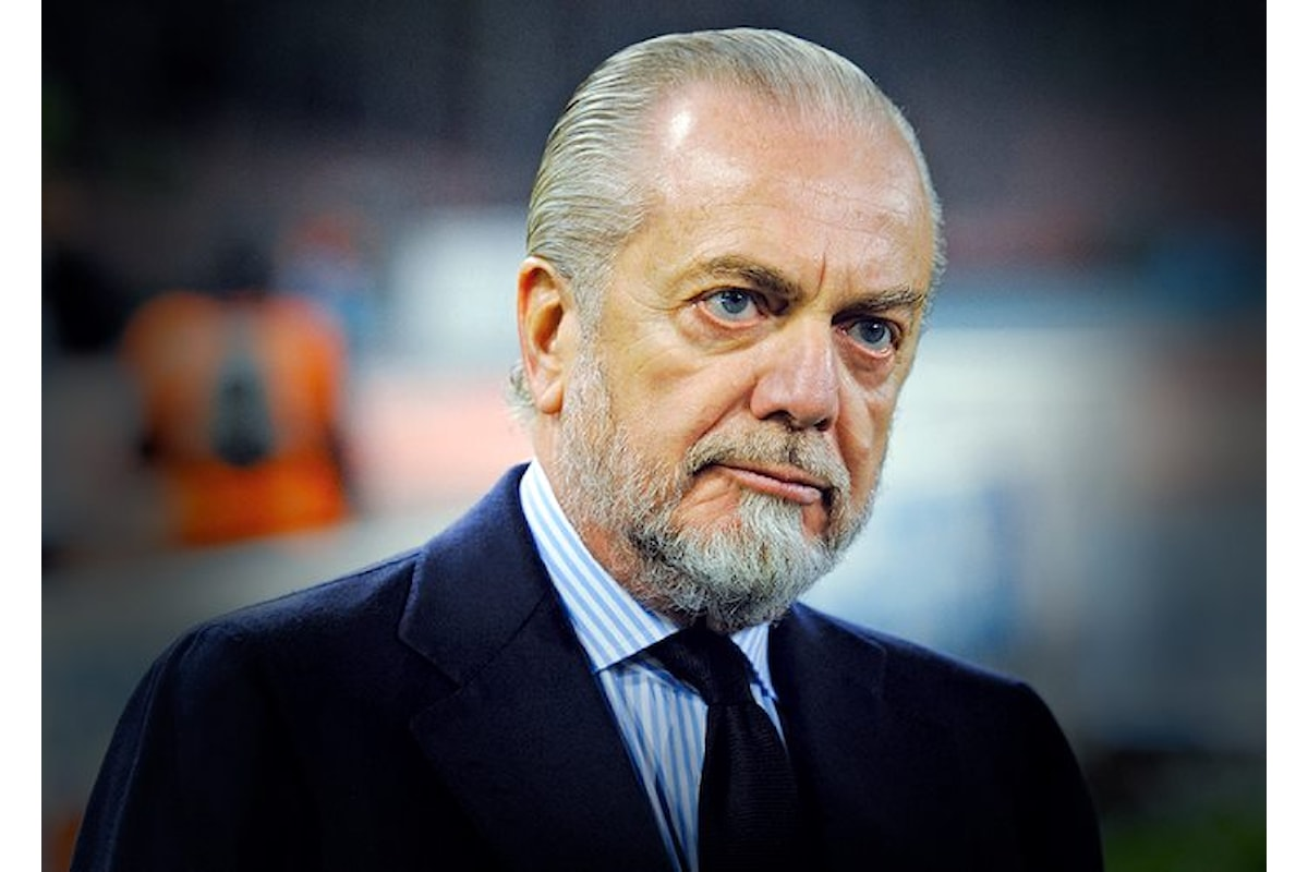 SERIE A - La rabbia di De Laurentiis per la crisi del Napoli
