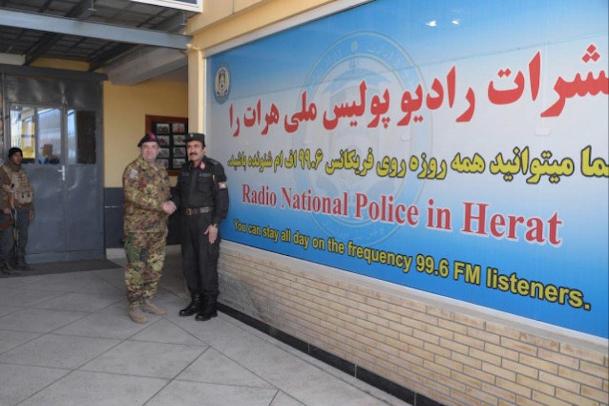 Afghanistan: i militari italiani che avevano creato Radio Bayan la cedono a polizia afgana