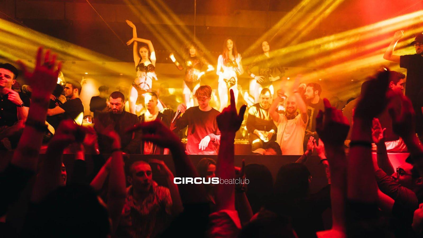Circus beatclub - Brescia: a dicembre, Aperti per Ferie con Rehab, Vida Loca, Samuele Sartini, Rudeejay, Luca Guerrieri