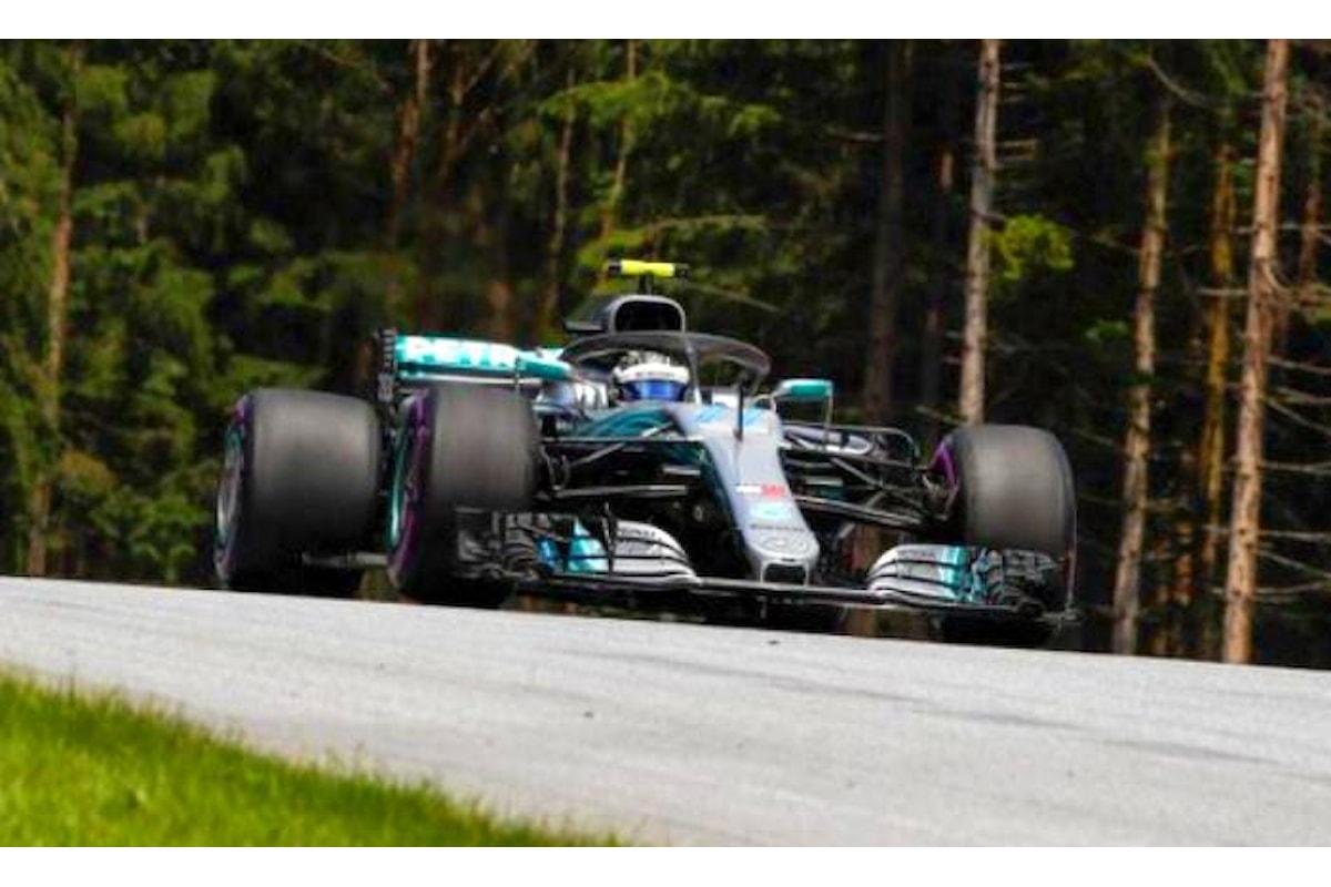 Formula 1, in Austria Bottas conquista la sua prima pole del 2018