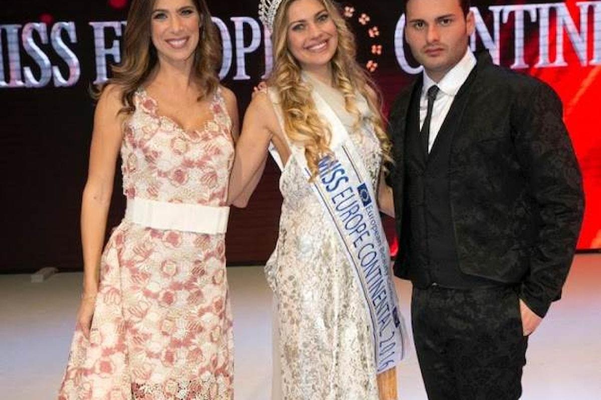 Miss Europe Continental 2017, conquista il cuore di Napoli e Fashion Tv!