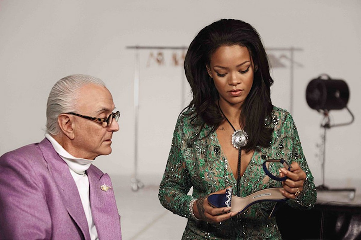 Rihanna, novità nella moda con una nuova collezione di stivali per Manolo Blahnik