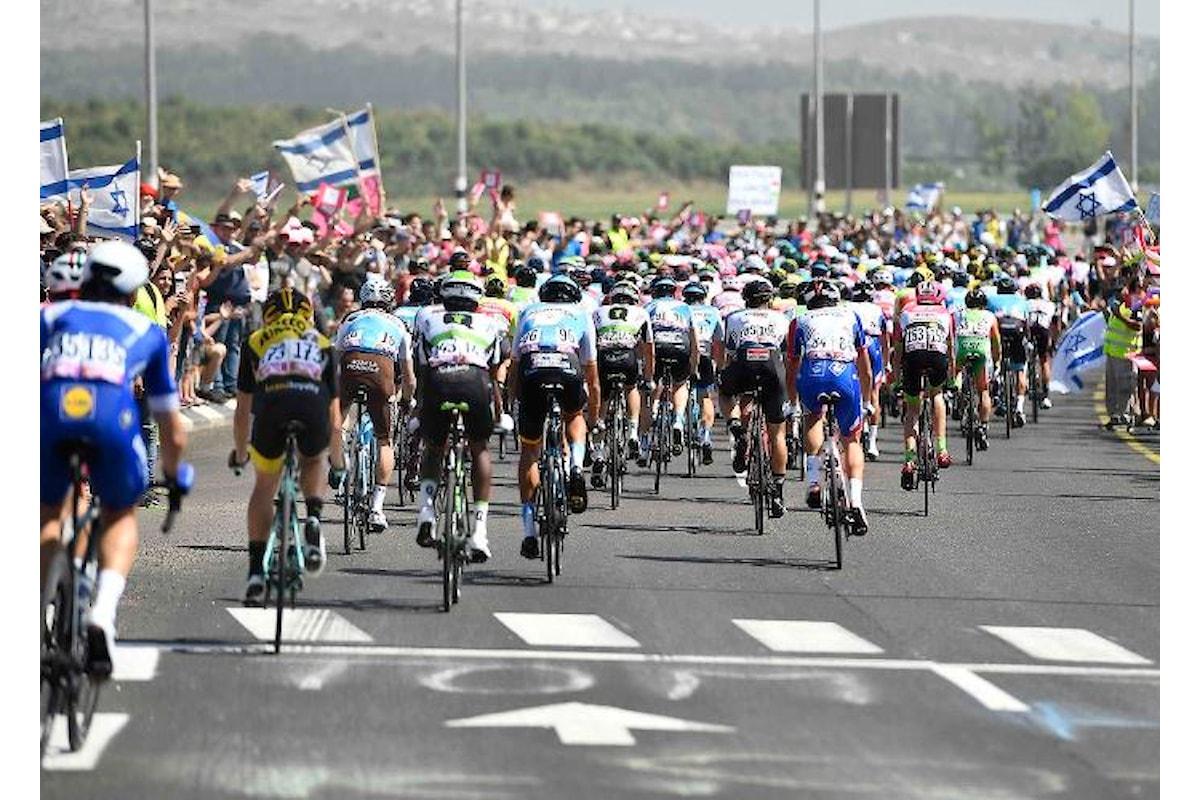 Ecco com'è andata la Grande Partenza del Giro d'Italia... e d'Israele
