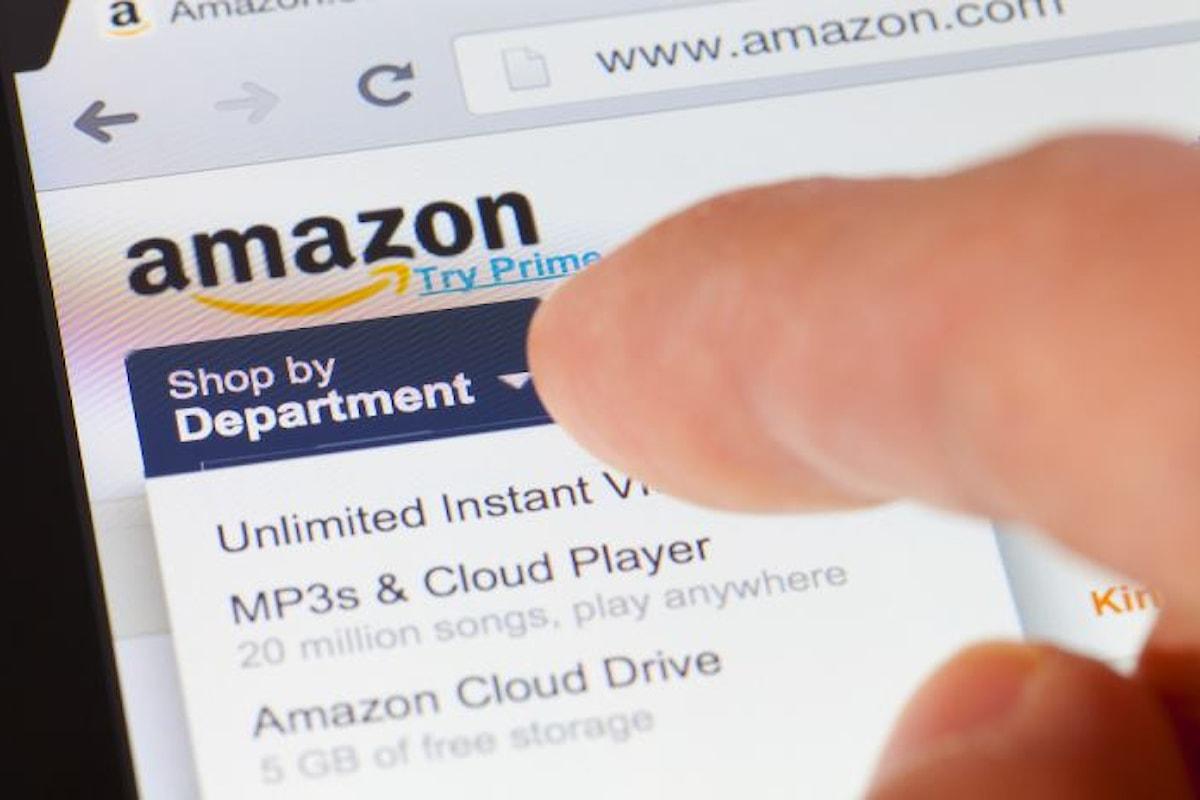 Il grazie di Amazon ai clienti per gli acquisti effettuati durante il Black Friday ed il Cyber Monday