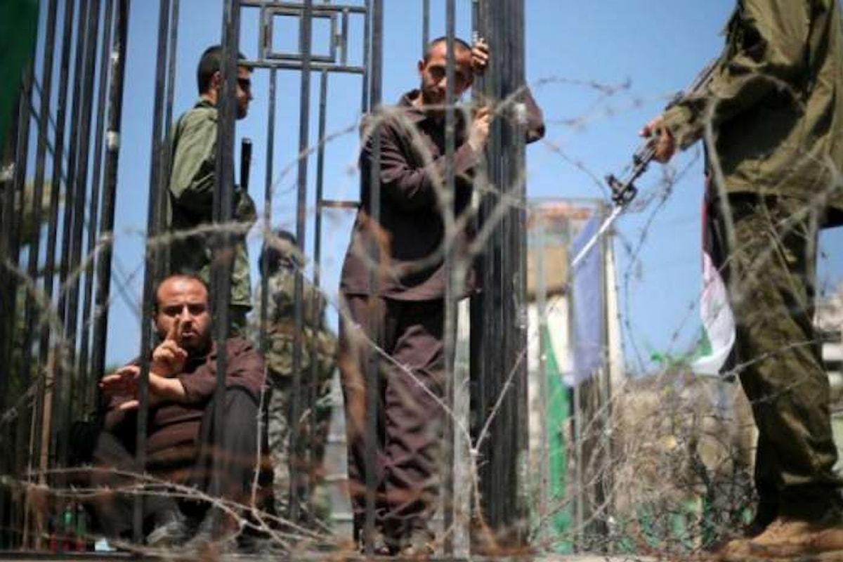 Lo sciopero della fame dei detenuti politici palestinesi è arrivato a tre settimane