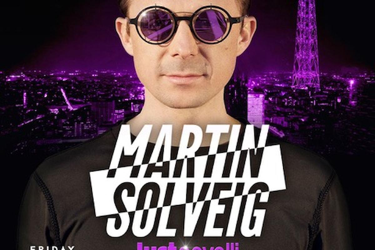 22 giugno 2018, Martin Solveig al Just Cavalli di Milano