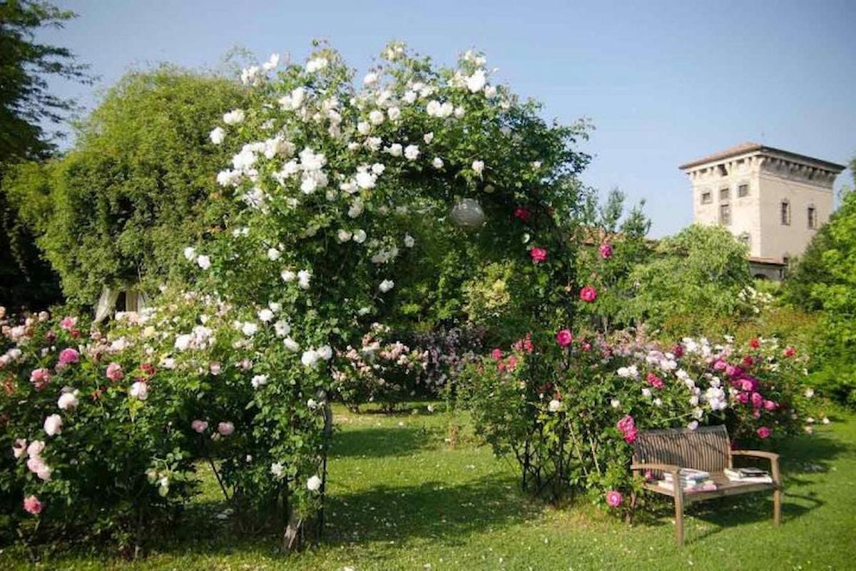 Tra maggio e giugno 2017 il Castello Quistini apre al pubblico i suoi splendidi giardini