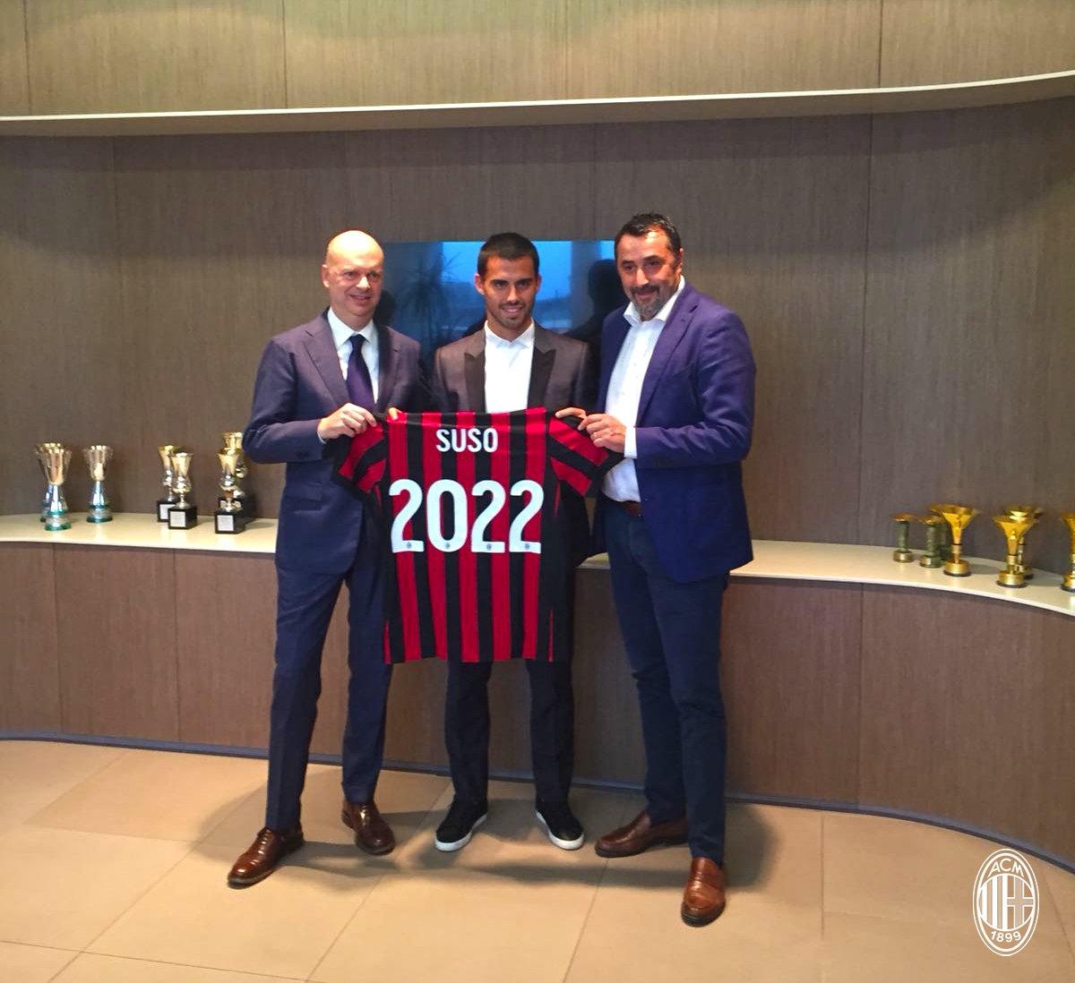 Suso rinnova con il Milan: contratto triennale e ingaggio da top player