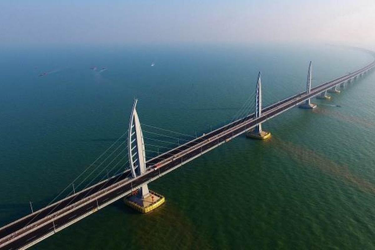 20 miliardi di dollari per il nuovo ponte che collega Hong Kong a Macao