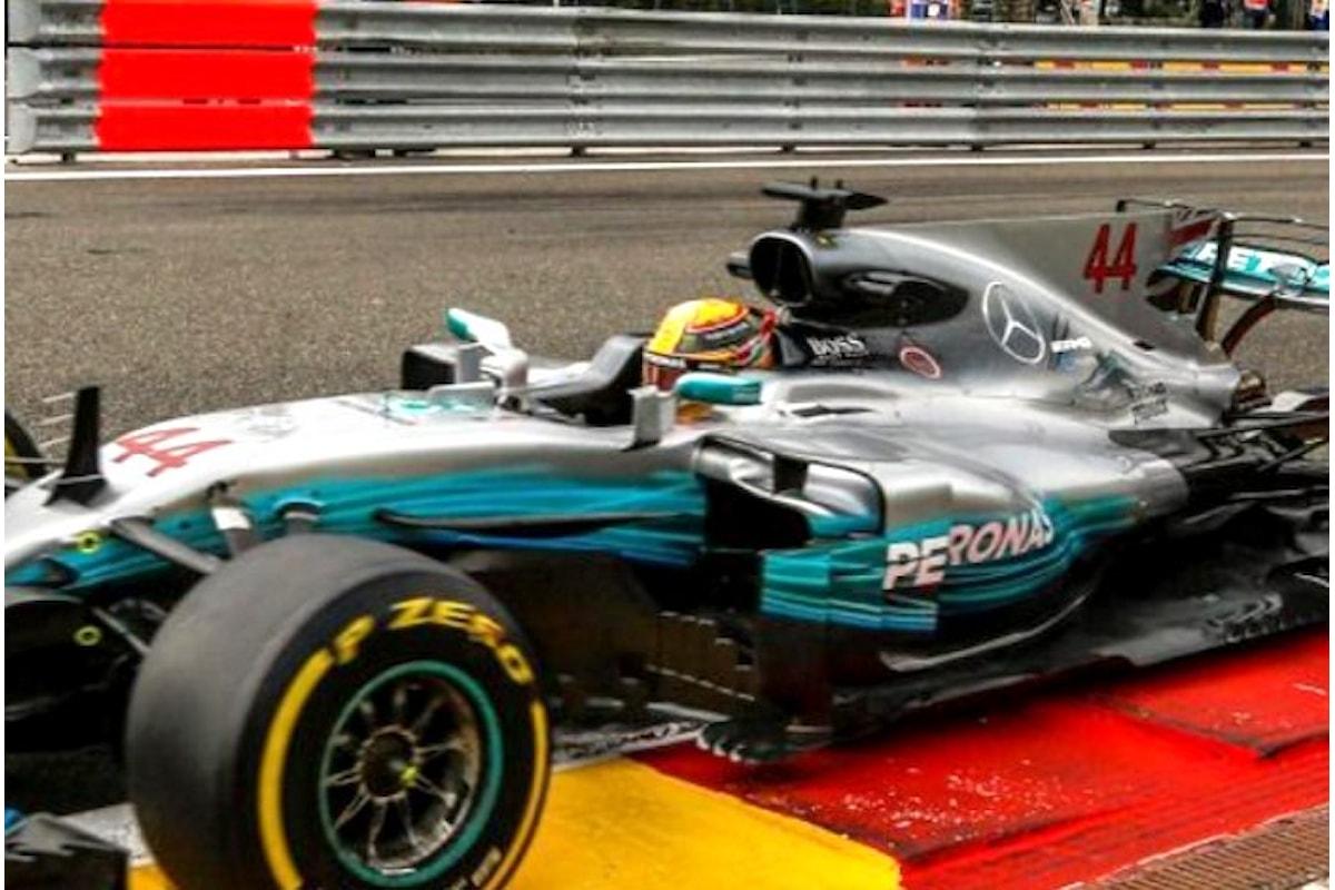Formula 1. Hamilton partirà in pole anche in Belgio dopo aver eguagliato il record di Schumacher