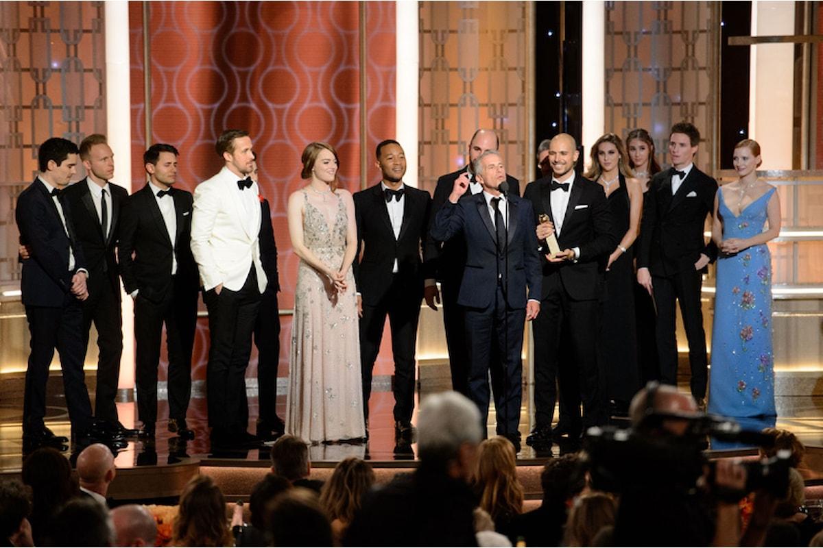 Tutti i vincitori dei Golden Globes 2017 per il cinema