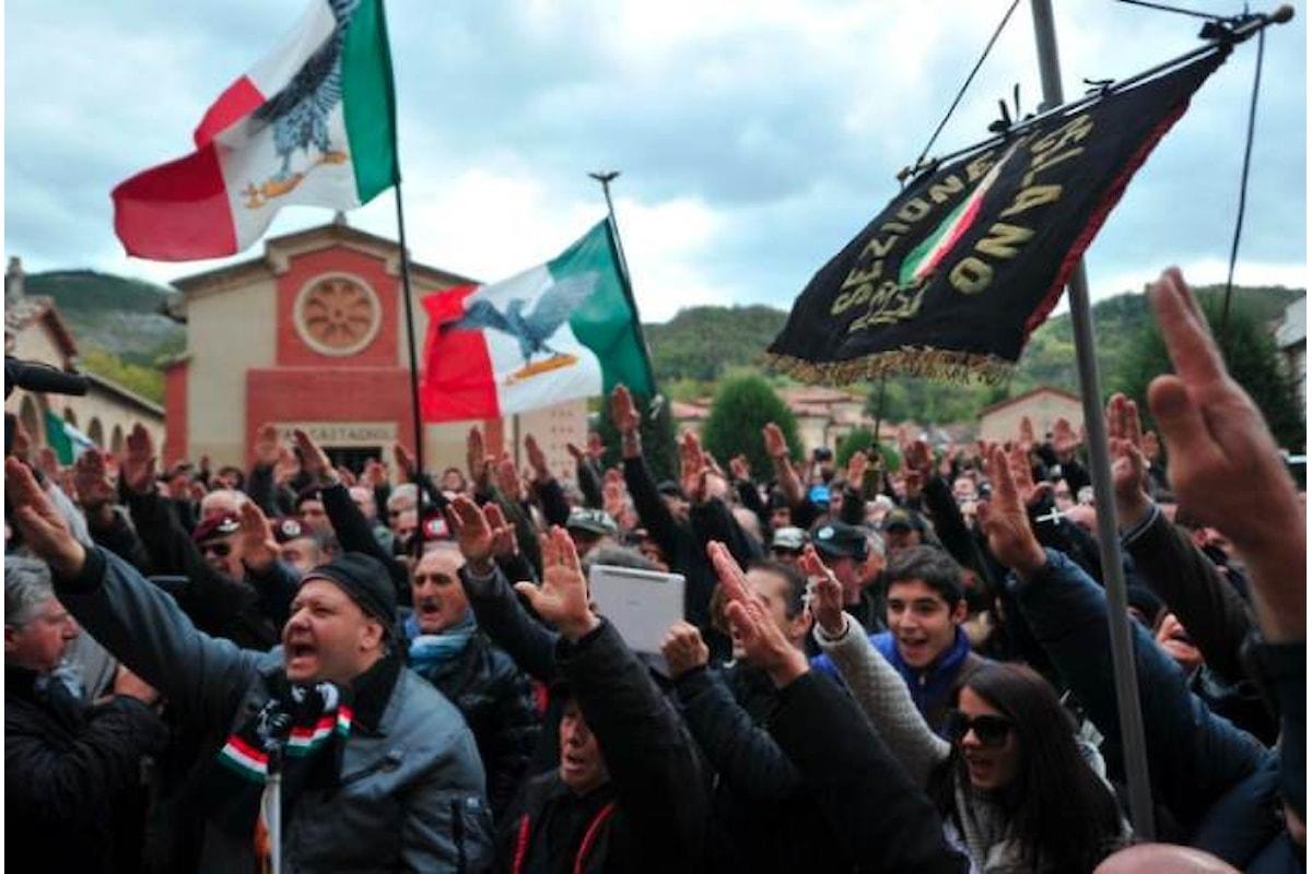 A Predappio i fascisti celebreranno la marcia su Roma tra le proteste dell'Anpi