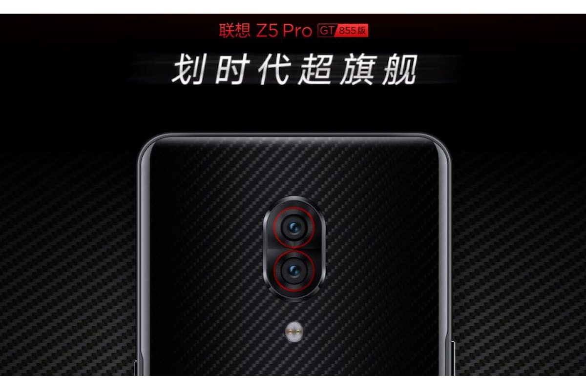 Lenovo Z5 Pro GT presentato ufficialmente: la potenza del Qualcomm Snapdragon 855, con 12GB di RAM e 512GB di storage