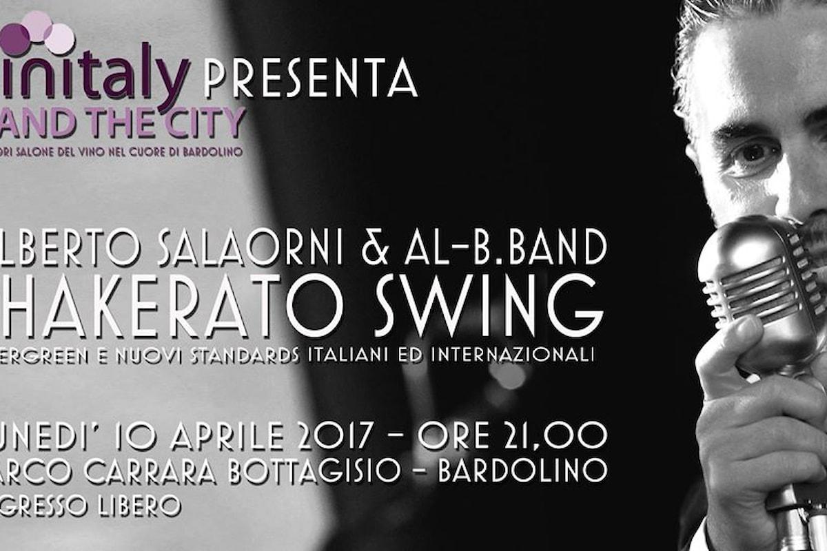 10 aprile, Alberto Salaorni & Al-B.Band Shakerato Swing a Bardolino per Fuori Vinitaly