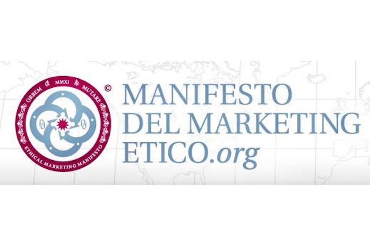Il Manifesto del Marketing Etico di Emmanuele Macaluso compie 6 anni