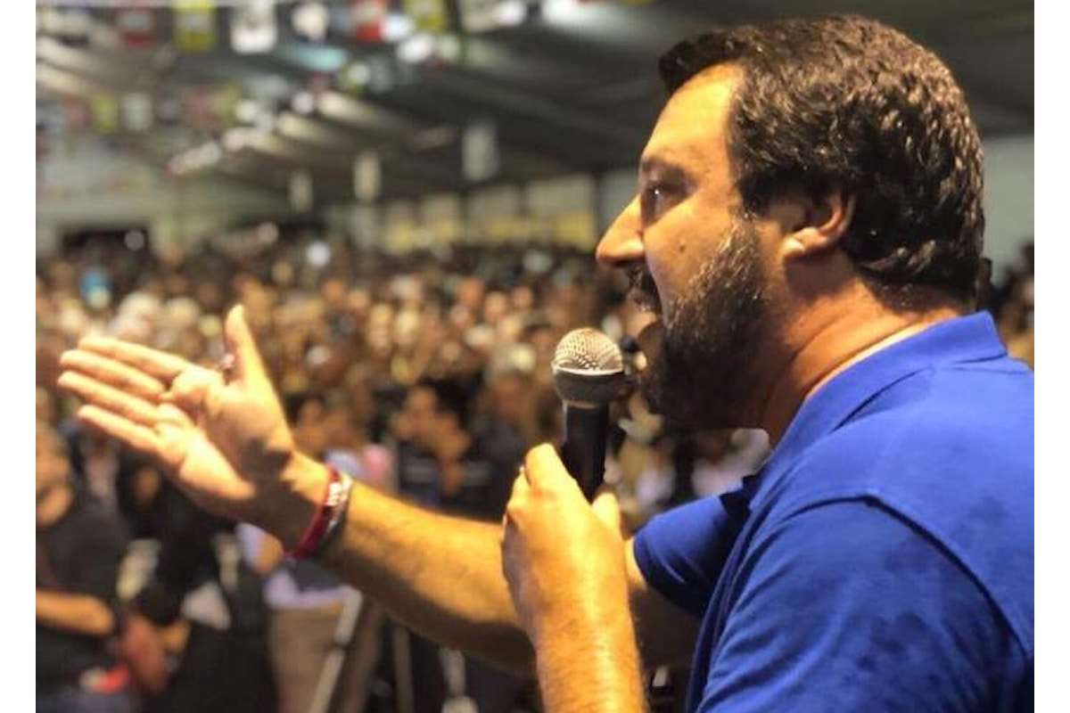 La morale politica di Matteo Salvini