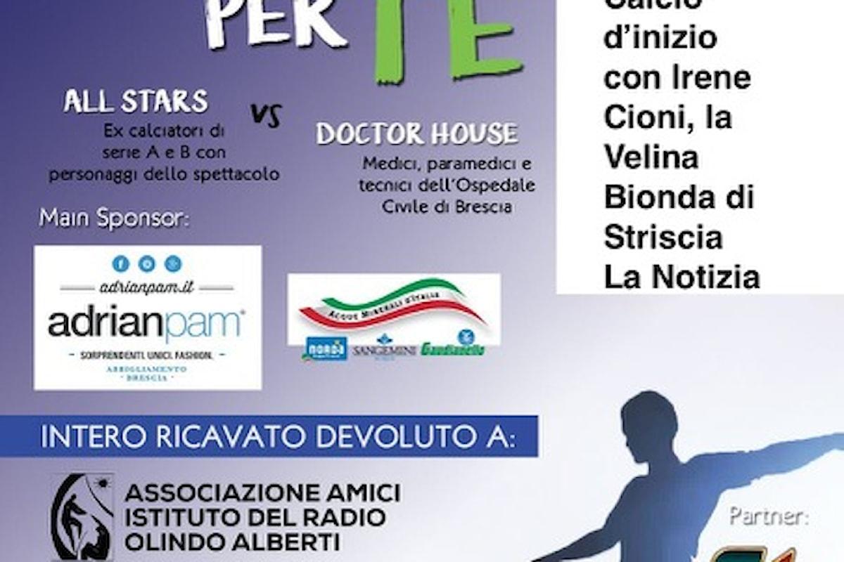 11giugno, Un Calcio per Te, partita di beneficenza a Castegnato (BS) tra All Stars e Doctor House