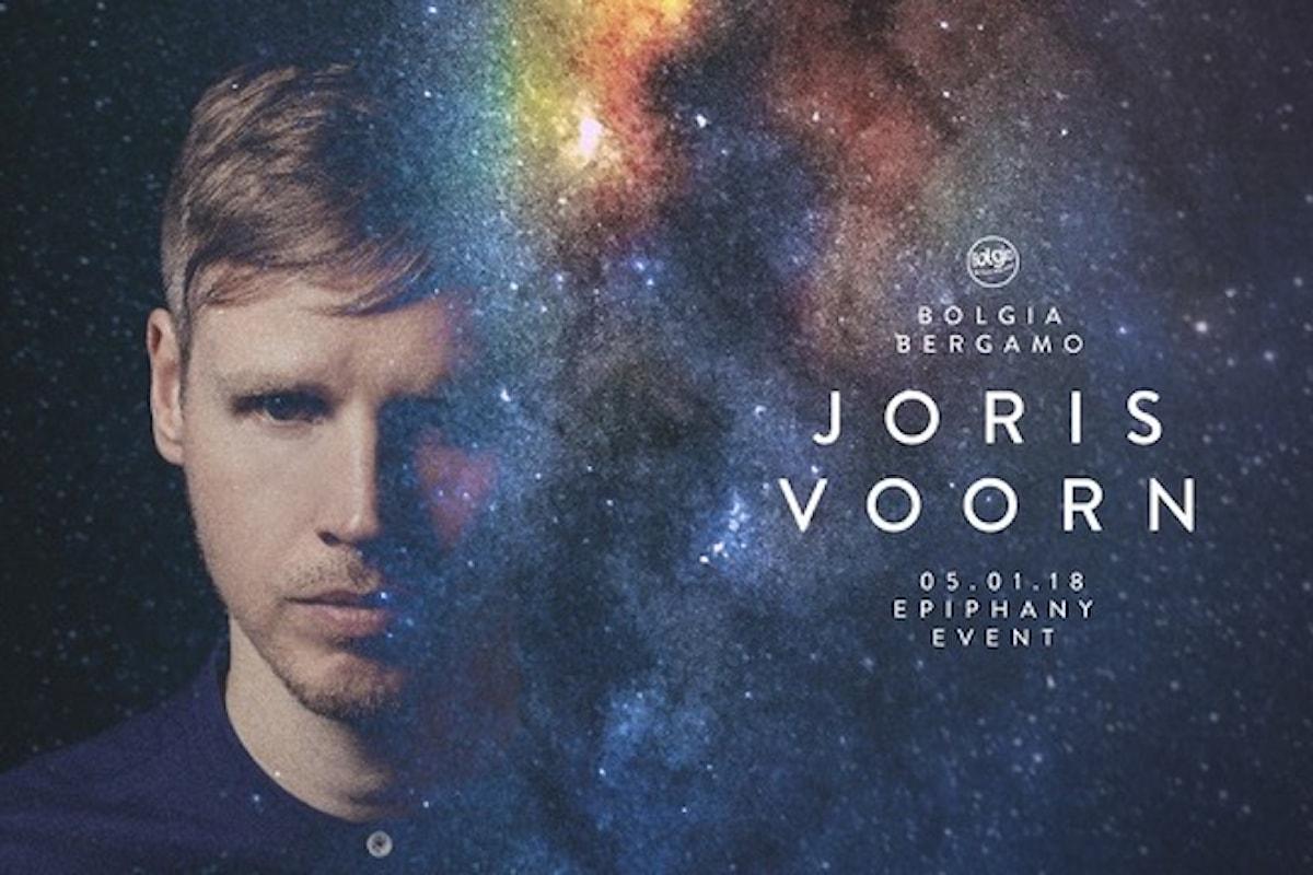 5 gennaio, Joris Voorn al Bolgia di Bergamo: Epiphany Event