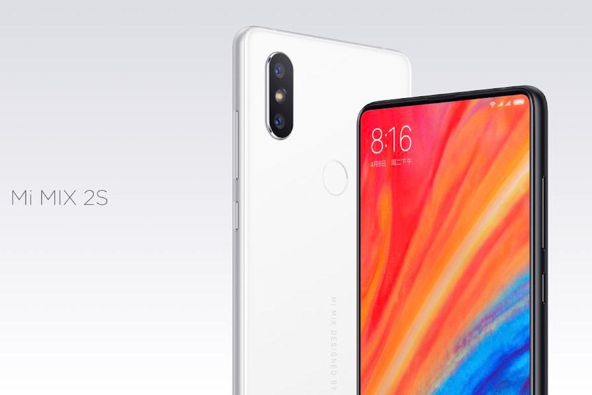 Xiaomi Mi Mix 2S: ripropone il design del Mi Mix 2 (e di iPhone X) ma con tante novità interessanti