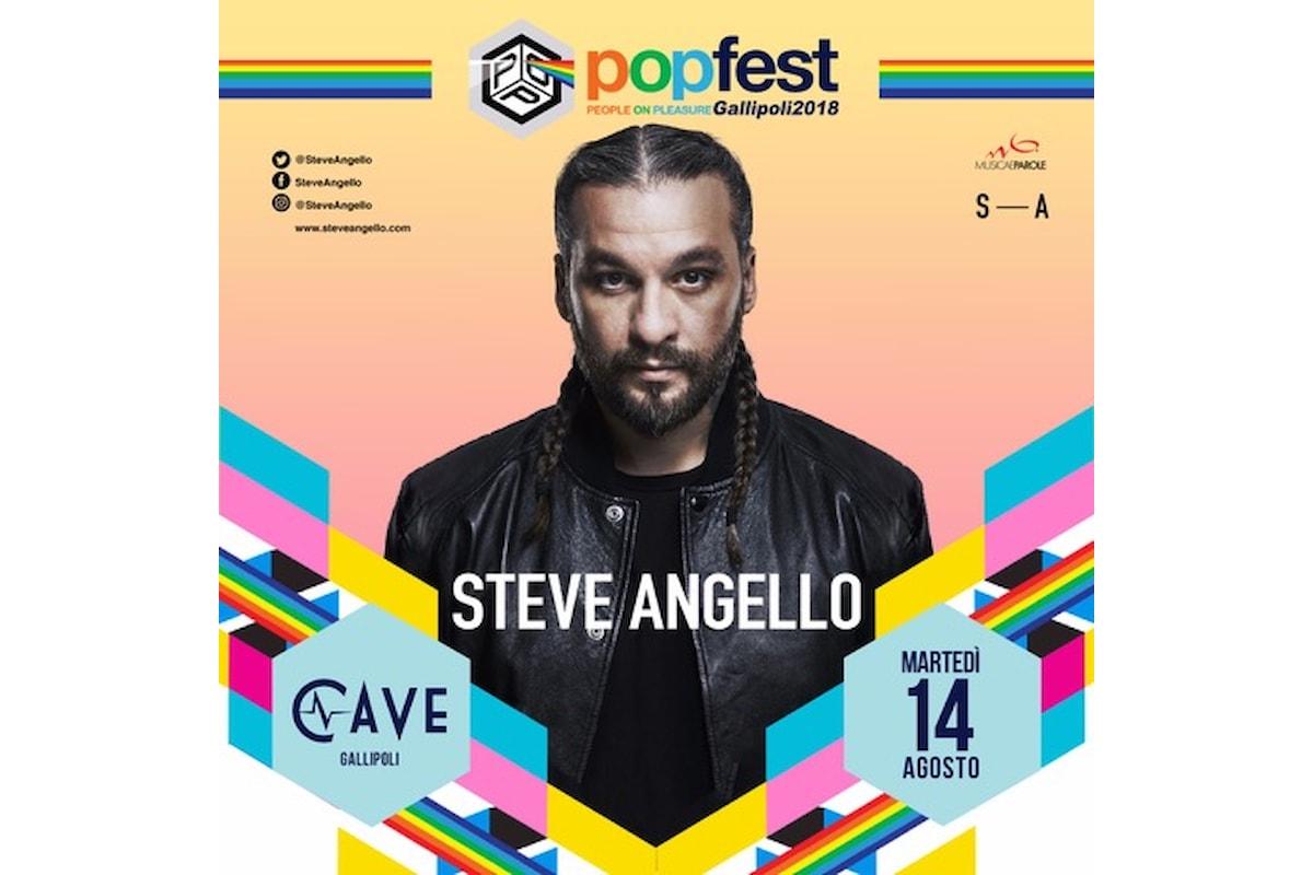 14 agosto Steve Angello al PopFest di Gallipoli c/o Cave