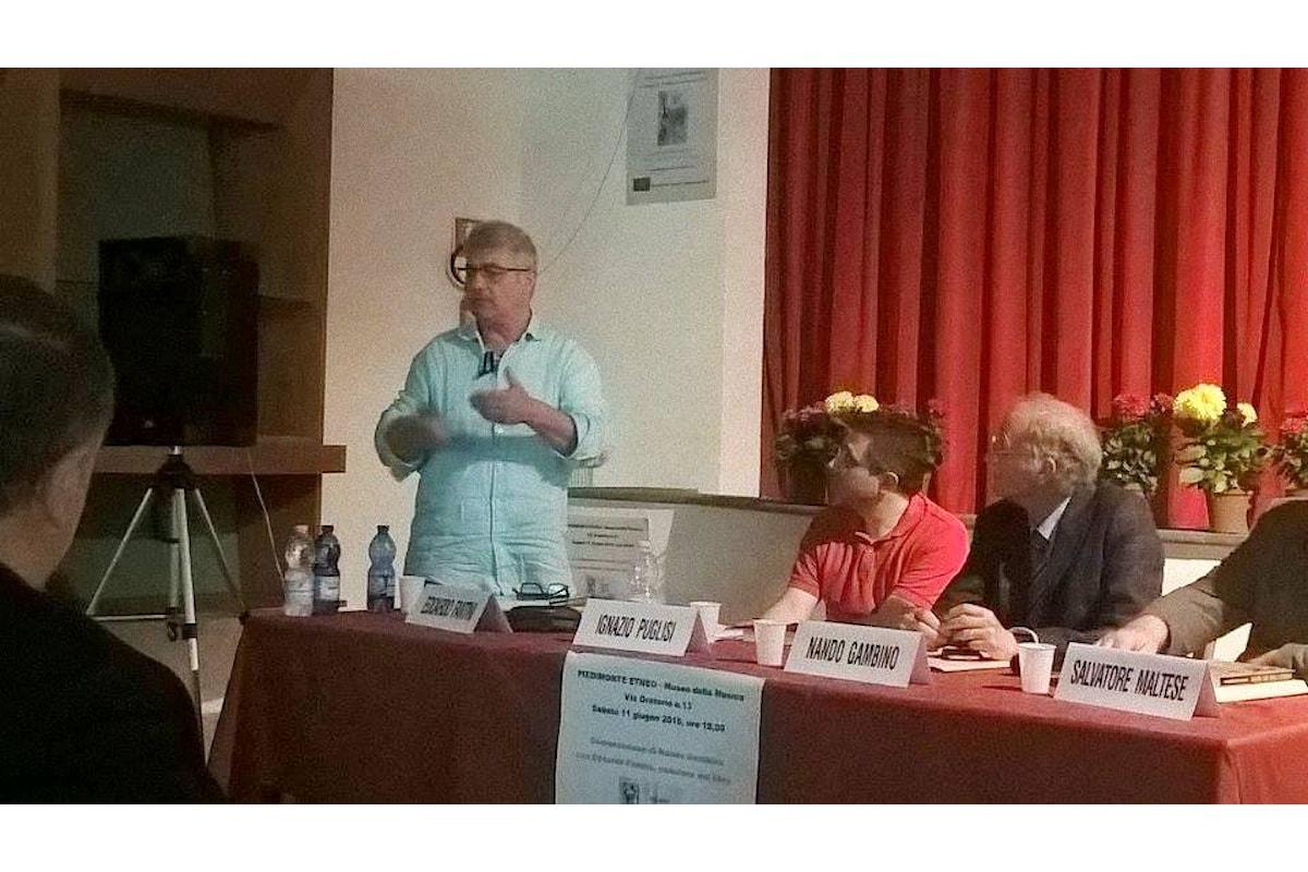 Presentato a Piedimonte Etneo (CT) il libro Fascismo Stato Sociale o dittatura?