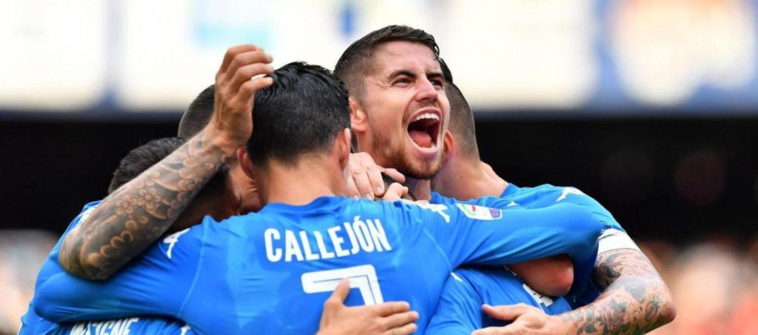 SERIE A - Napoli-Sassuolo 3-1. Show azzurro al San Paolo