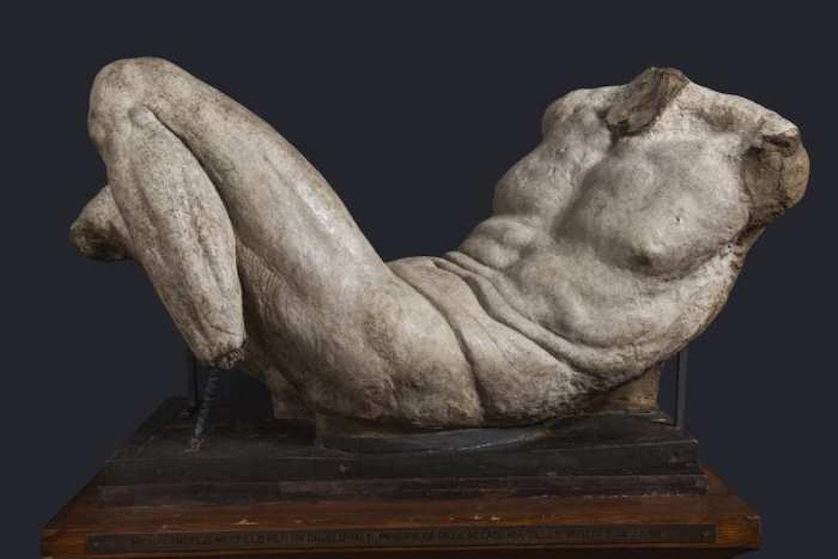 Presentato il restauro del Dio fluviale di Michelangelo Buonarroti