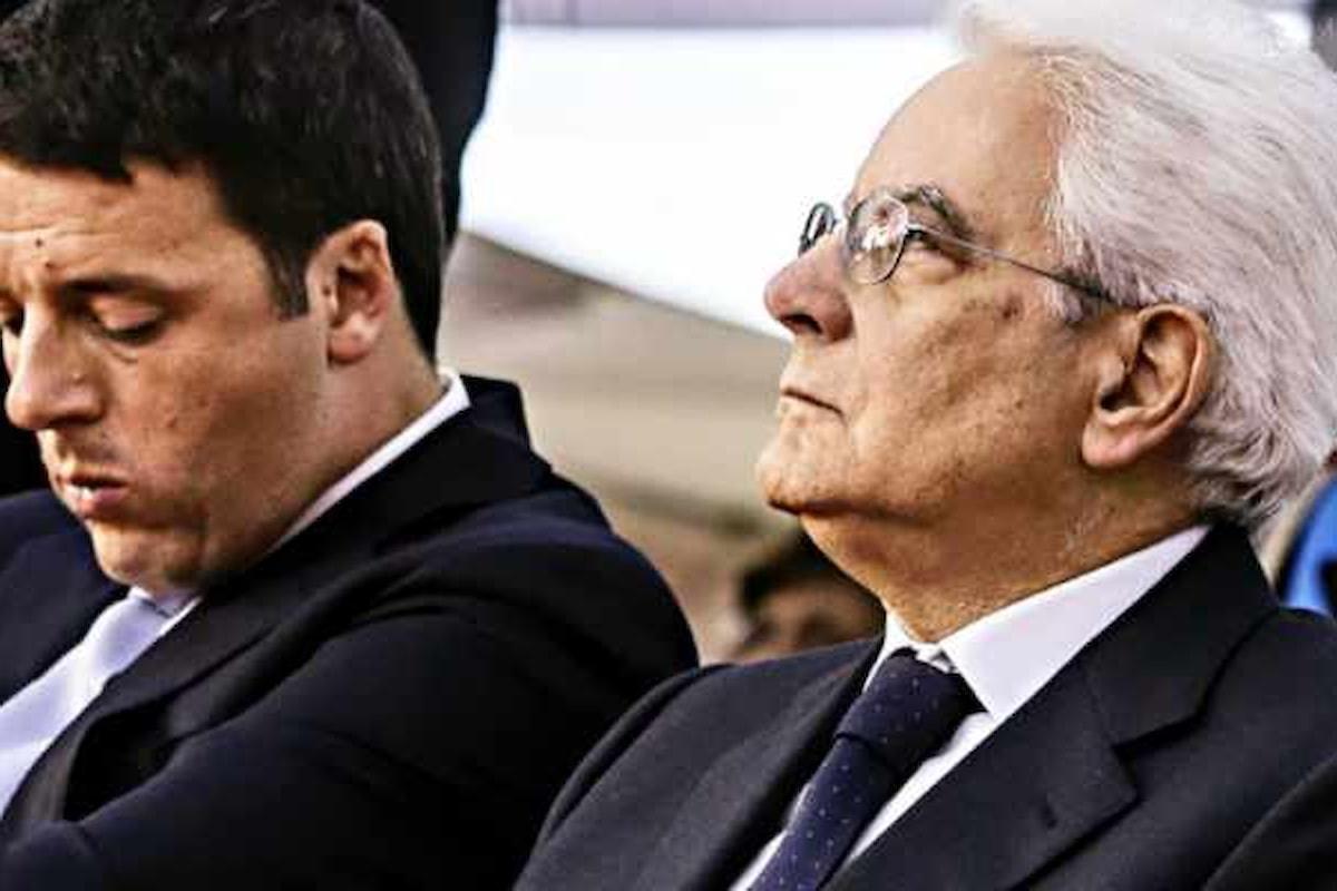 Le cavallette d'Italia? Renzi e Mattarella