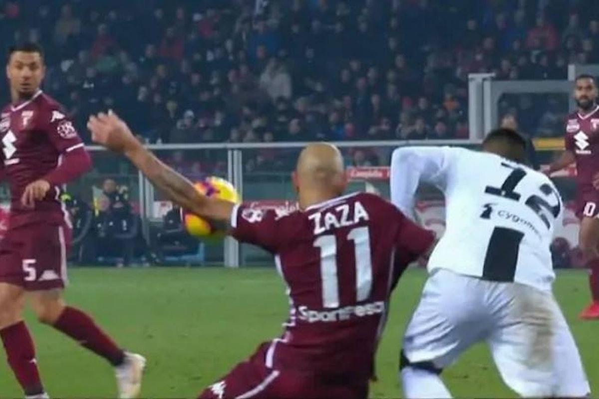 Simone Zaza, ma soprattutto Guida e i suoi assistenti al Var, hanno permesso alla Juventus di battere il Torino per 1-0