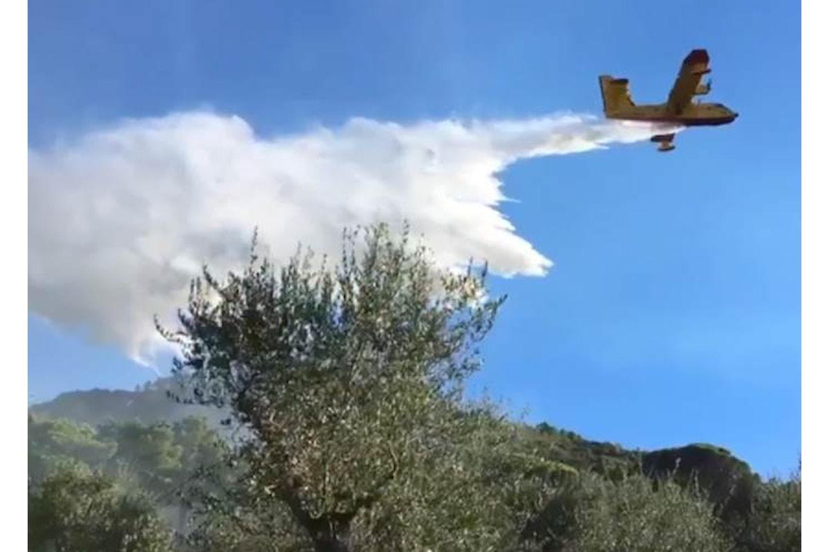 Incendio sul Monte Serra, si spengono gli ultimi focolai