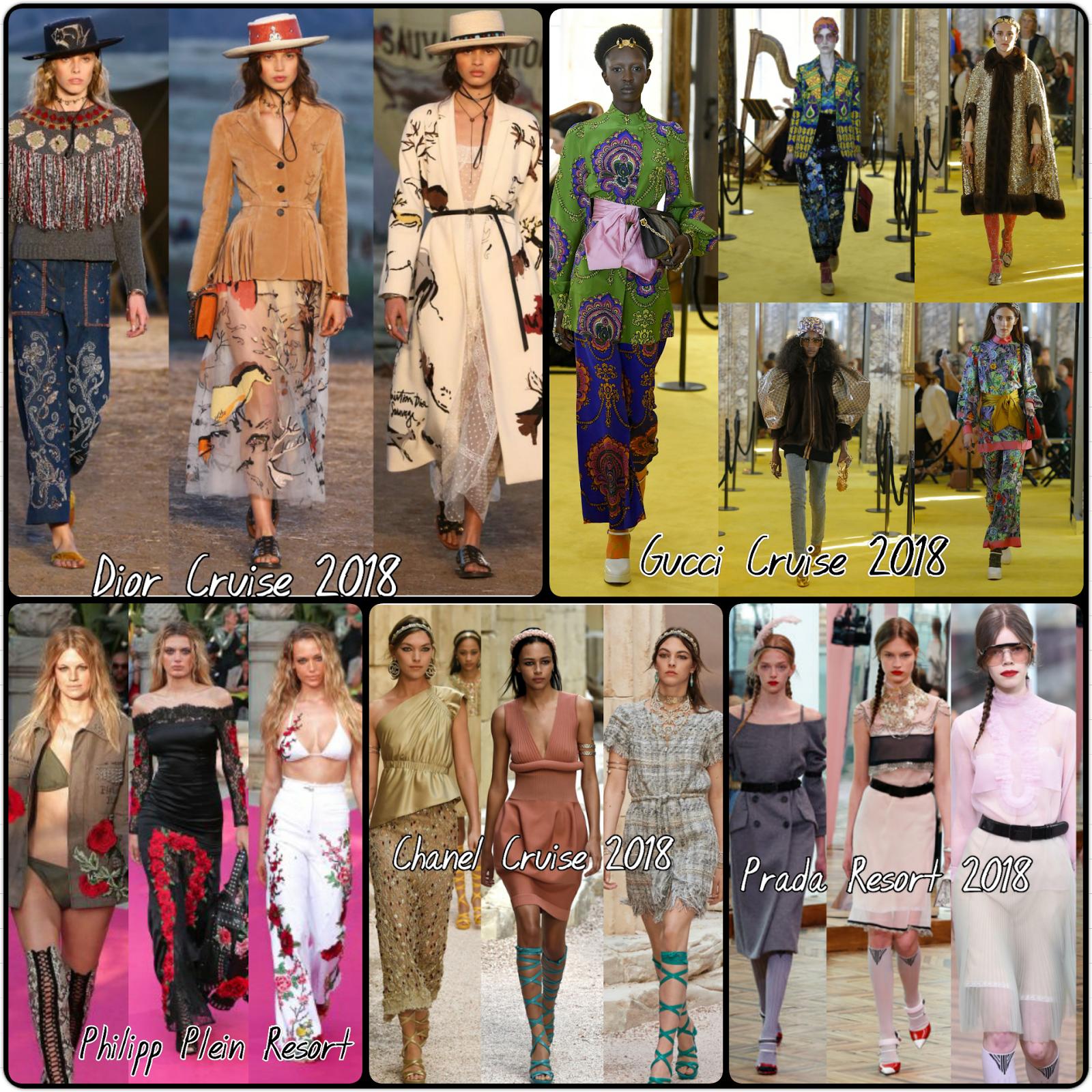 Da Chanel a Dior, Gucci, Louis Vuitton, Fendi, Valentino... scopri tutte le Cruis Collection 2018!