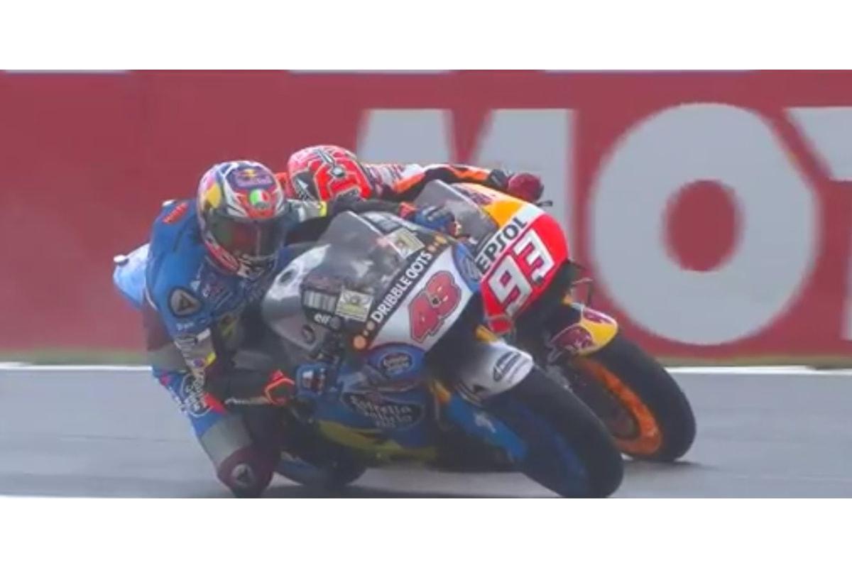 Ad Assen domina la pioggia: vince Miller, Marquez secondo allunga su Rossi e Lorenzo