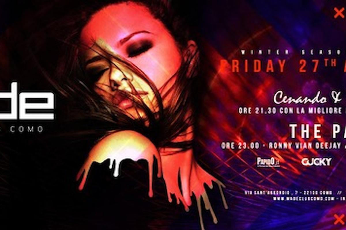 27/04 Made Club - Como: Cenando & Ballando & The Party