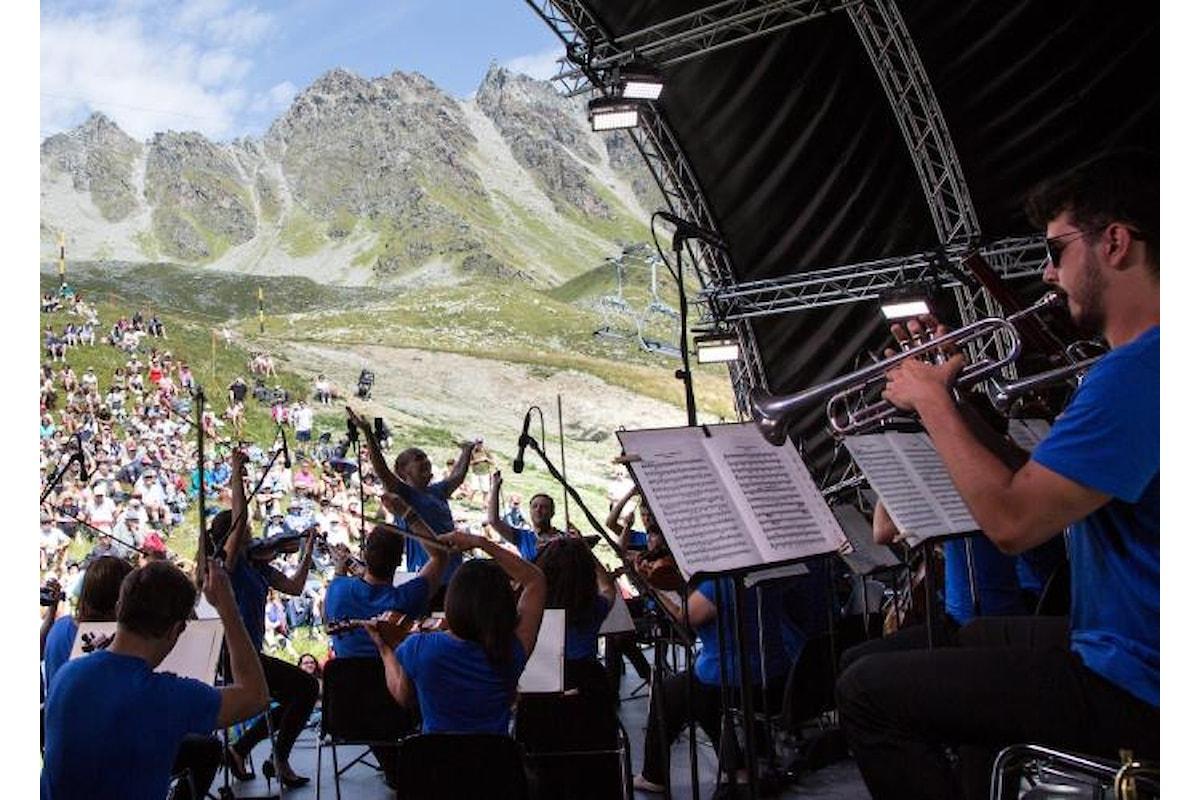 Si svolge fino al 5 agosto la 25.esima edizione del Verbier Festival