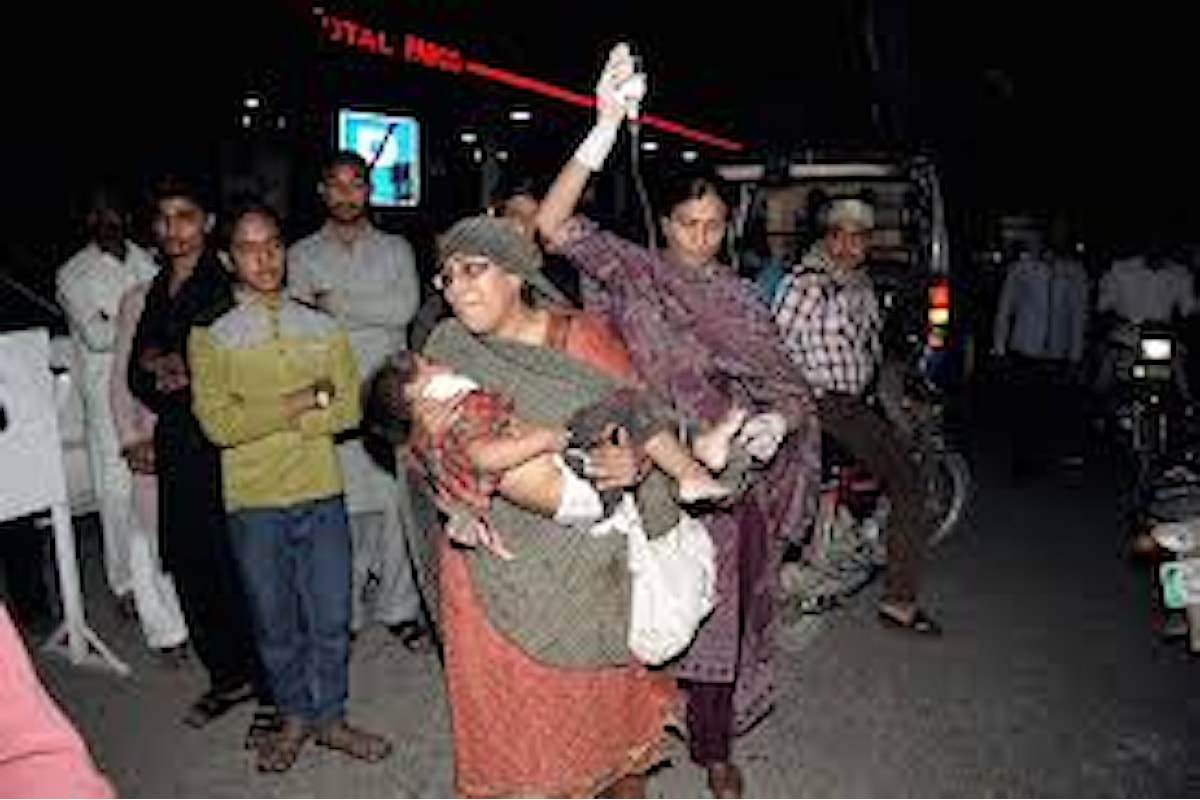 La strage di Lahore, con 72 morti, rivendicata dai Talebani
