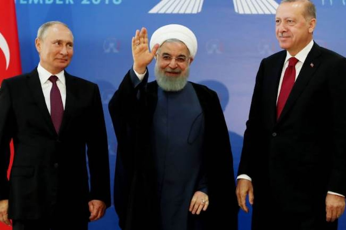 Un nulla di fatto il vertice a Teheran su Idlib: Erdogan chiede il cessate il fuoco, Putin dice no