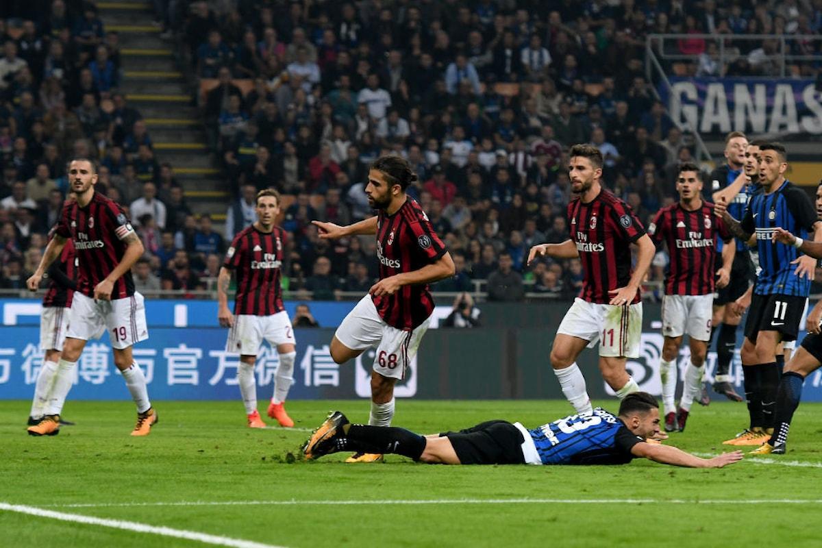 Moviola Inter-Milan: Montella contesta il rigore