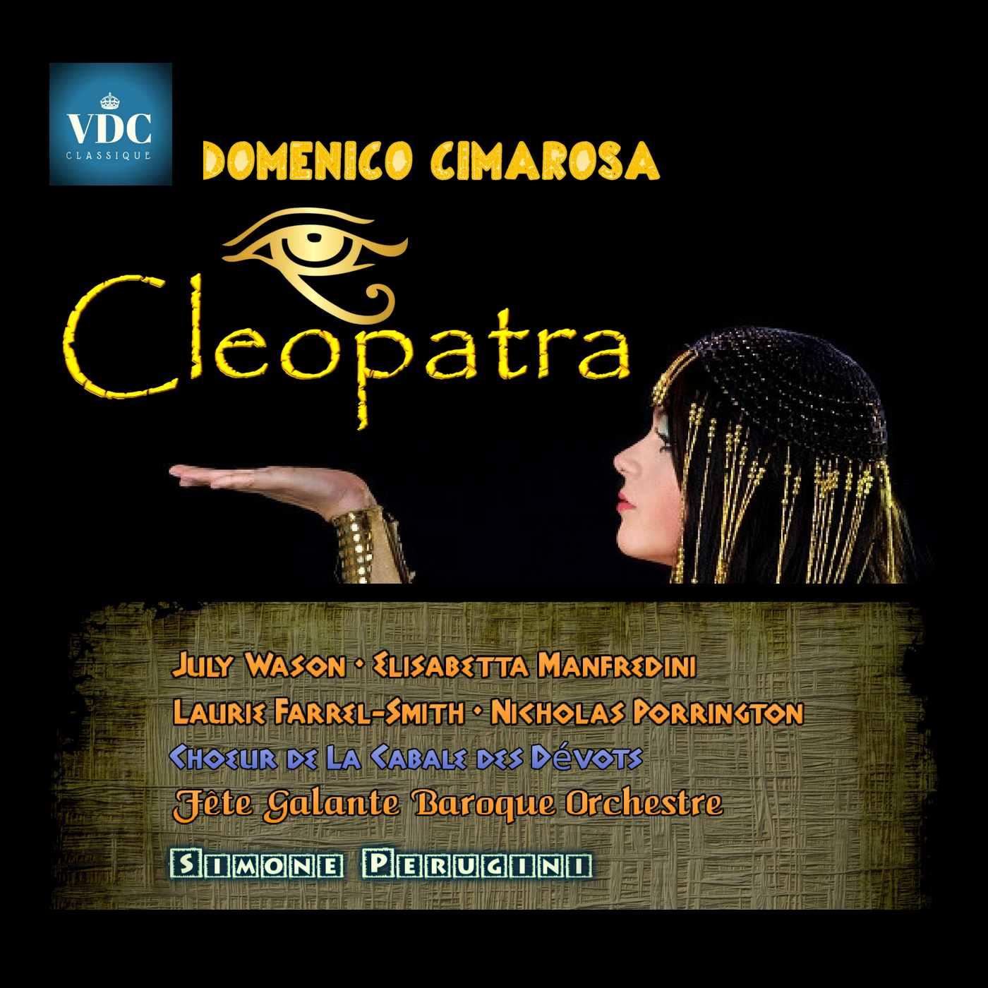 Cleopatra di Cimarosa presto in CD