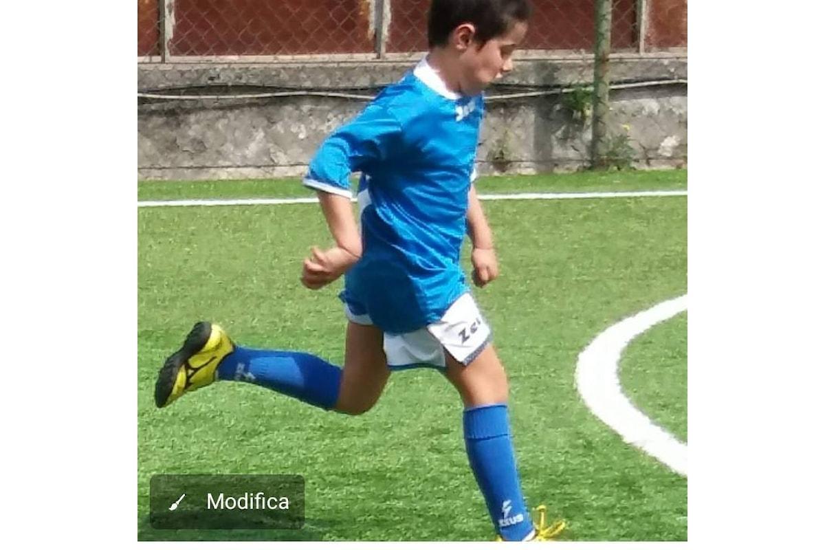La SSC Napoli a caccia di baby talenti nelle periferie. Il Baby fantasista Falché (nella foto), incanta gli scouters