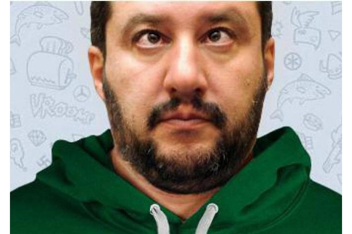 Salvini non ha più nemmeno la faccia