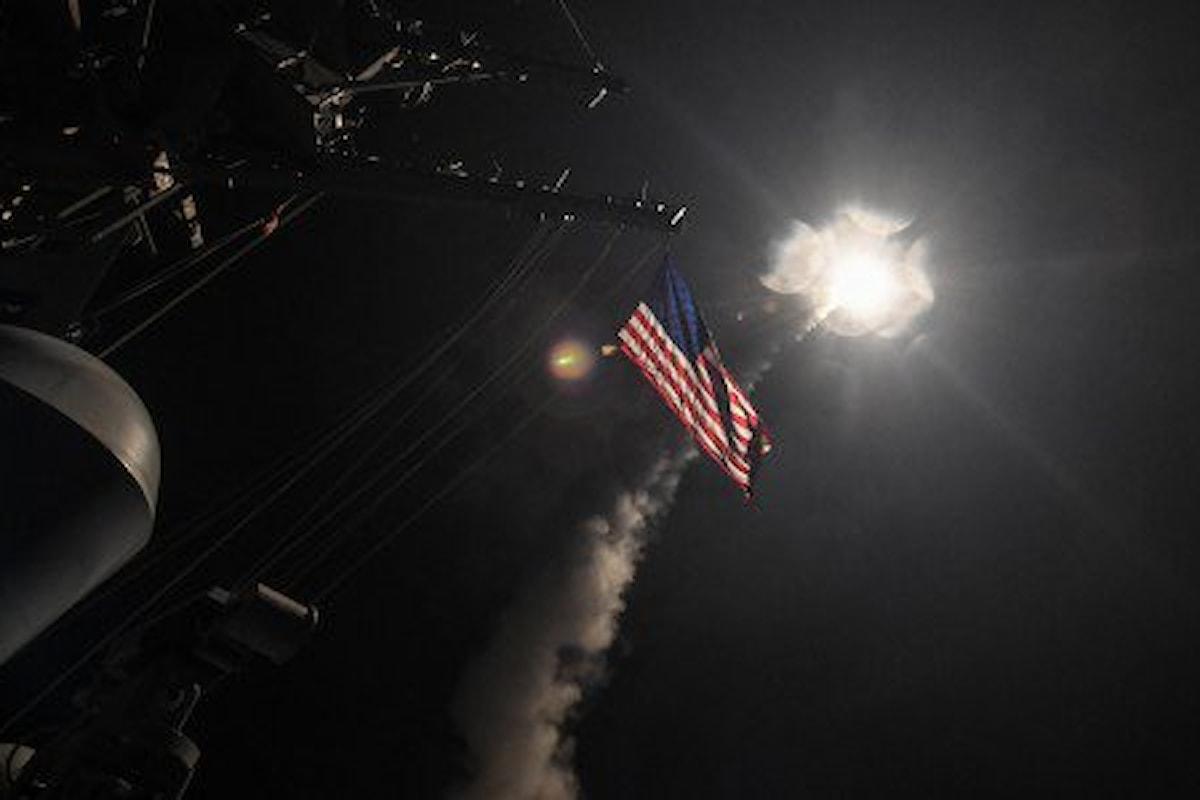 Gli USA attaccano la Siria ma l'offensiva non piace alla Russia