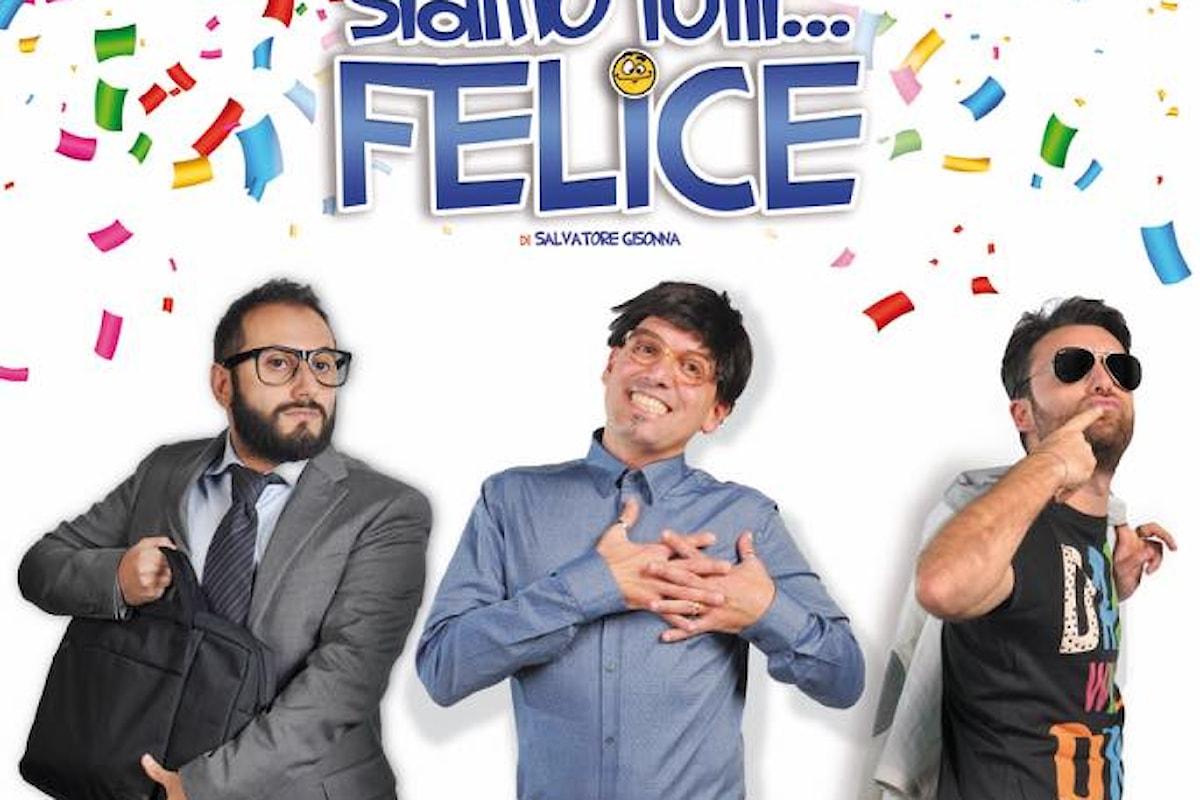 Siamo tutti felice, la commedia interattiva di Salvatore Gisonna debutta al Teatro Scarpetta di Ponticelli