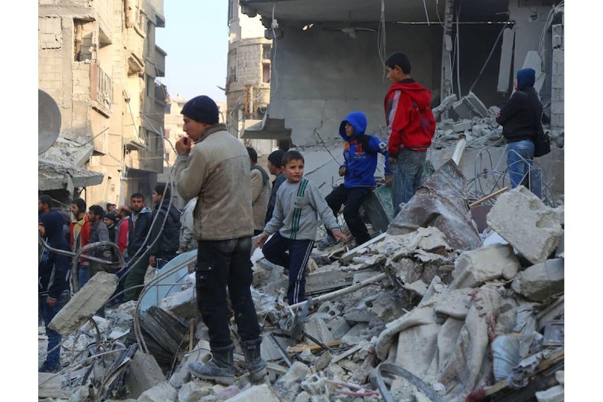 Guerra in Siria: l'Unicef denuncia che oltre 30 bambini sono rimasti uccisi nelle prime due settimane del 2018